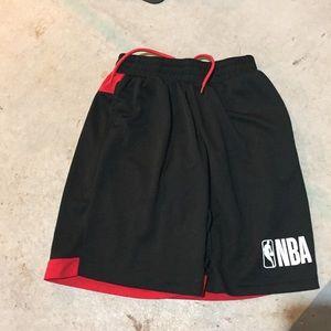 Men's nba athletic basketball shorts euc med